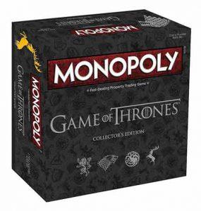 monopoly juego de tronos edicion coleccionista en castellano
